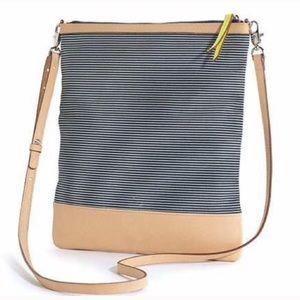 Waverly Petite Crossbody Bag & Clutch, navy/white